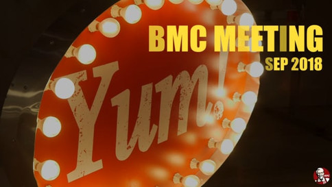 KFC's BMC Food Innovation Event