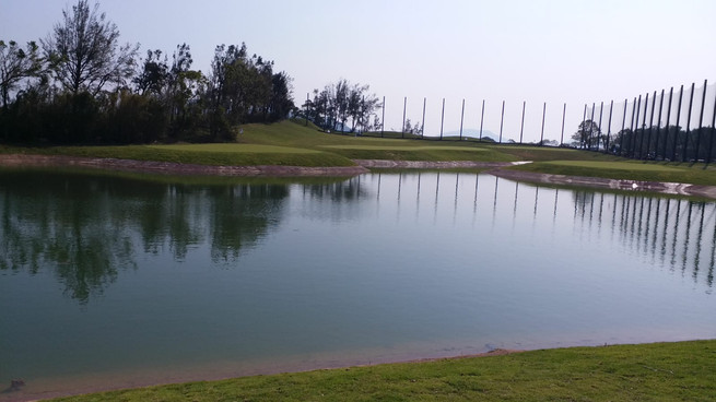 Full Renovated Driving Range at Clear Water Bay Golf and Country Club by Linksshape's Hong Kong Team