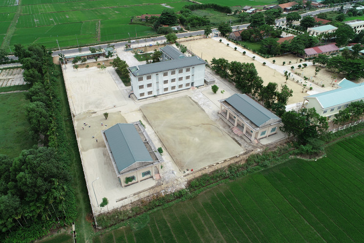 Charity Works - Aerial View of Training College in Vietnam June 2018