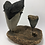 "Thumbnail: 5.79"" XXL-1Lb Fossil Megalodon Great White Shark Tooth Combo  ** On Wh"