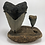 """Thumbnail: 5.79"""" XXL-1Lb Fossil Megalodon Great White Shark Tooth Combo  ** On Wh"""