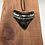 "Thumbnail: 2.49"" Diamond Polished Silver Plated Fossil Megalodon Shark Tooth Necklace"