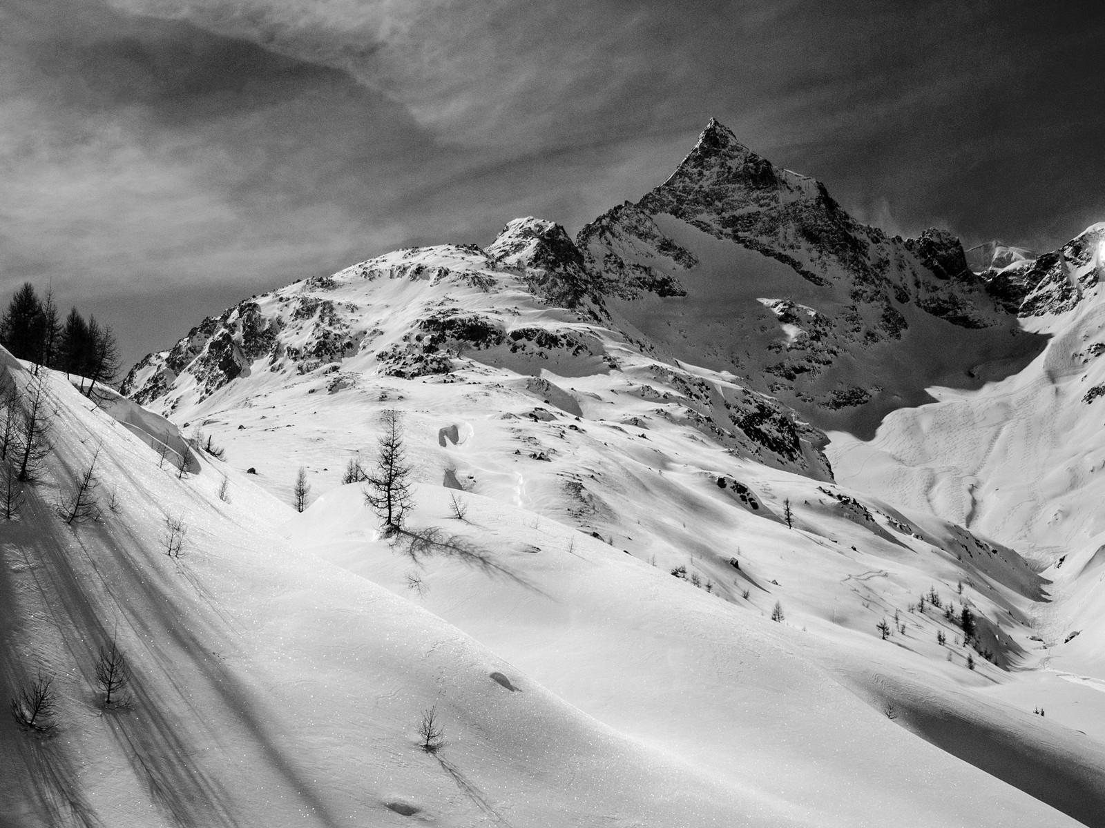 MONO - Bernina Alps by Russel Birch (9 marks)