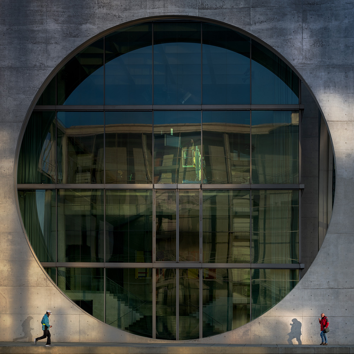 COLOUR - Round Window by Michael Byrne (10.5 marks)