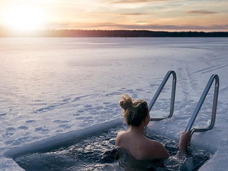 El agua helada y su poder curativo