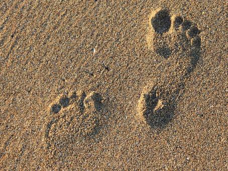 ¿Caminar descalzos?