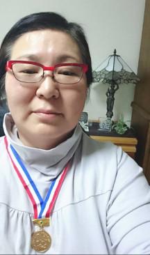 銅メダル達成 第90号 笹本弘美さん(山梨県甲府市)  平成29年4月10日達成