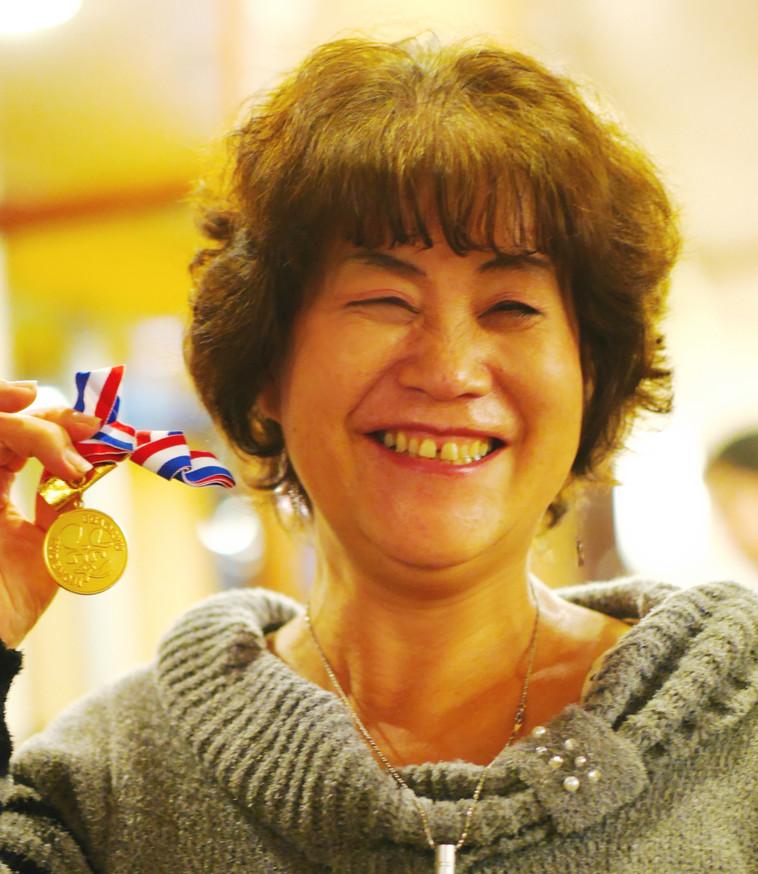銅メダル達成 第17号 黒﨑博子さん(栃木県宇都宮市)    平成26年11月11日達成