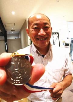銀メダル達成 第7号 遠藤弘康さん(埼玉県さいたま市) 平成28年7月13日達成
