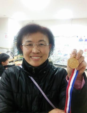 銅メダル達成 第104号 伊東勝子さん(福島県本宮市)  平成29年11月19日達成
