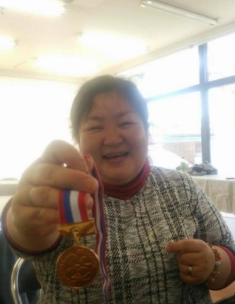 銅メダル達成 第111号 渡辺真恵子さん(山梨県富士吉田市)平成30年3月18日達成