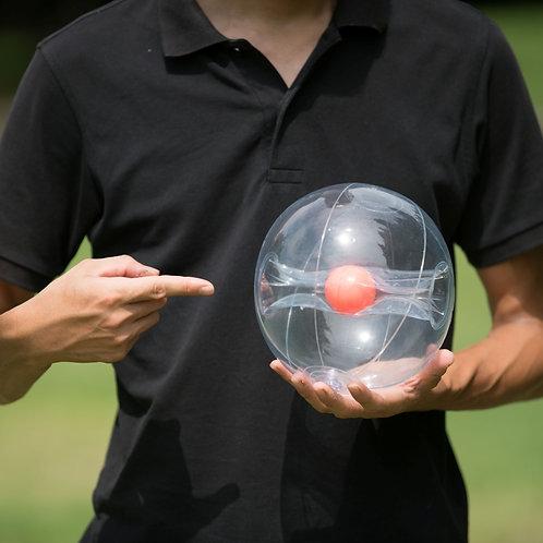 練習用透明ボール「hinomarc.」