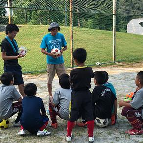 小学生のリフティング練習@名古屋市