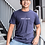 Thumbnail: PERSONALIZE T-SHIRT - NAVY (ONE LINE)