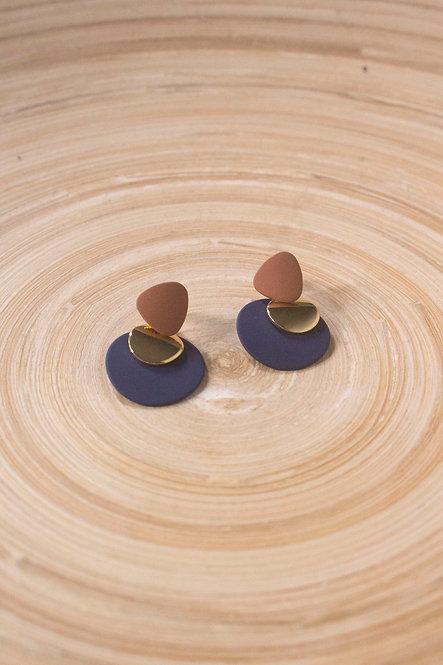 Jolene Earrings - Blue