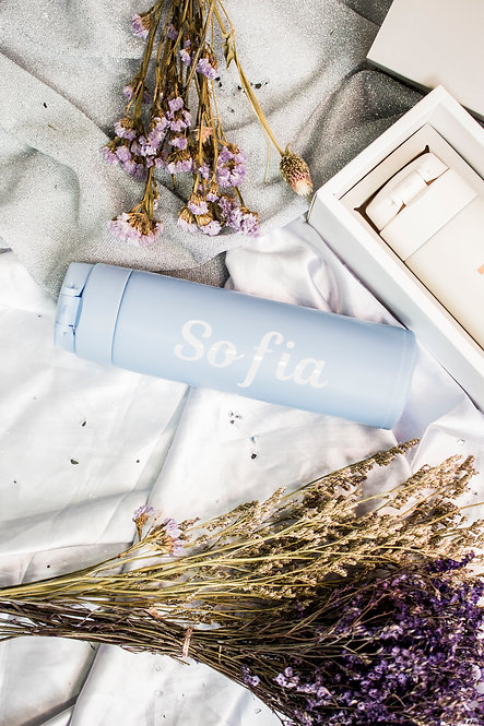 TOBY THERMAL BOTTLE - PASTEL BLUE