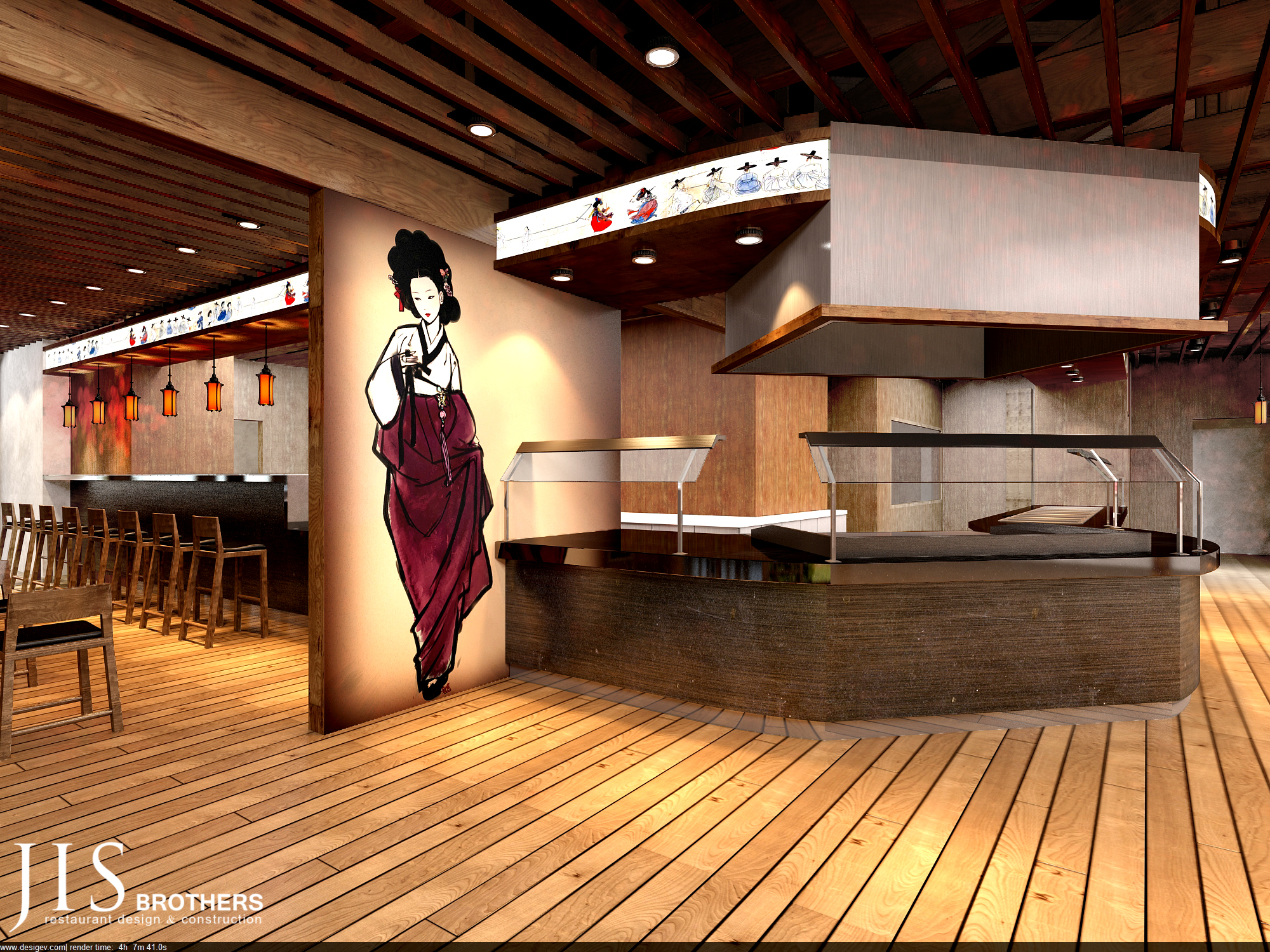 Da Hai BBQ - 3D design