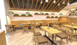 Attic Restaurant & Playground - 3D