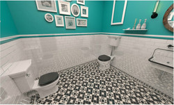 Attic Restroom - 3D