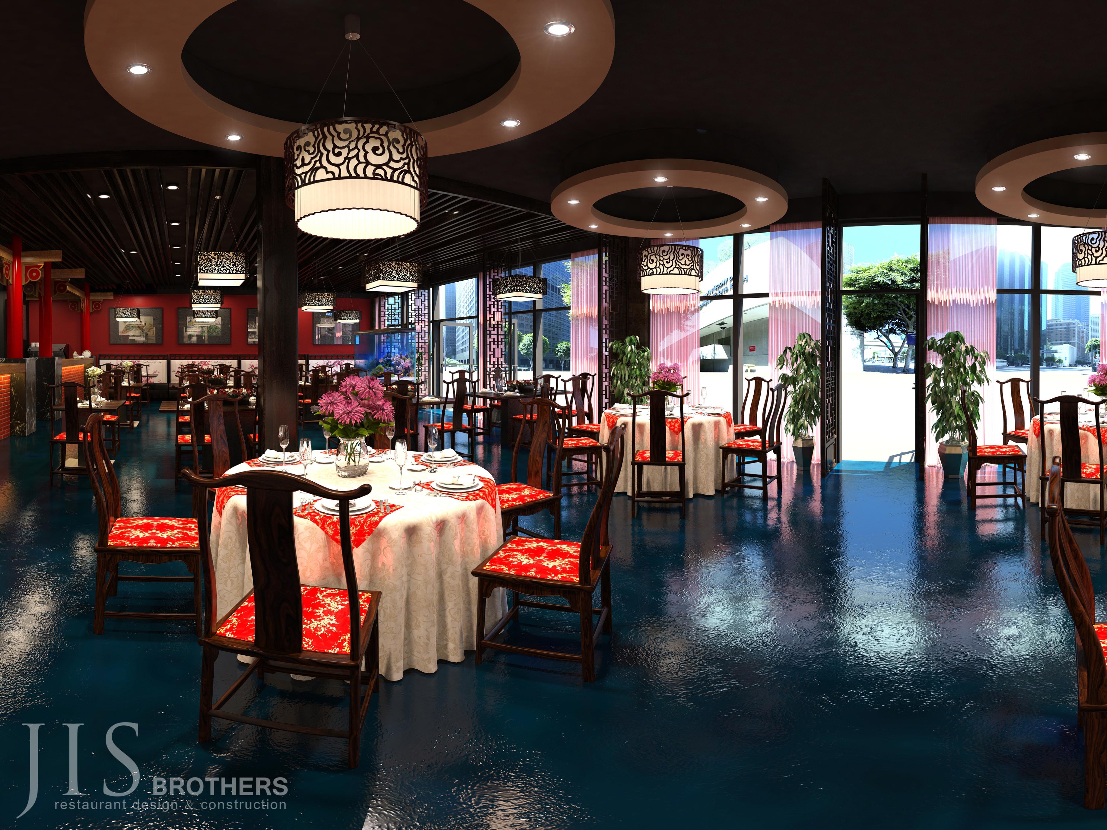 Ji Xiang Restaurant - 3D design
