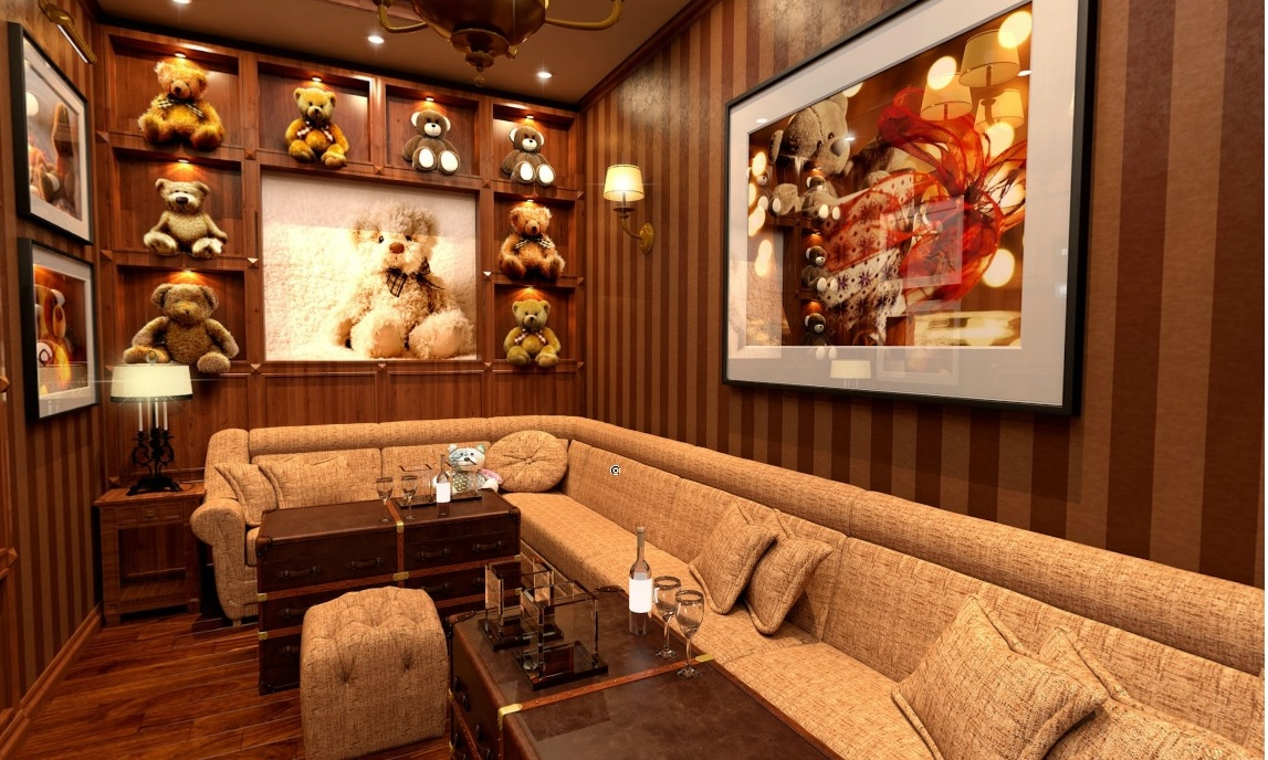 Hi Way KTV - Teddy Bear Room