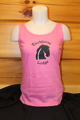 Ladies Tank-Pink, Red or Black