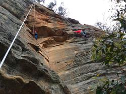 Rock Climbing Blue Mountains