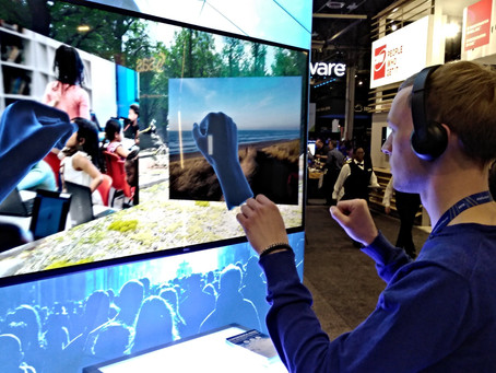 A unique way to interact with VR content