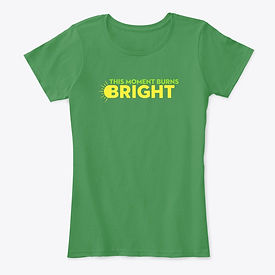 Enlightened Immersive - This Moment Burns Bright - T-Shirt