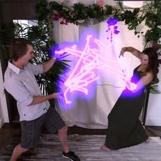 LightWrite + Kinect App + Enlightened Im