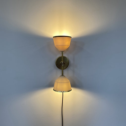 Hour Glass Sconce