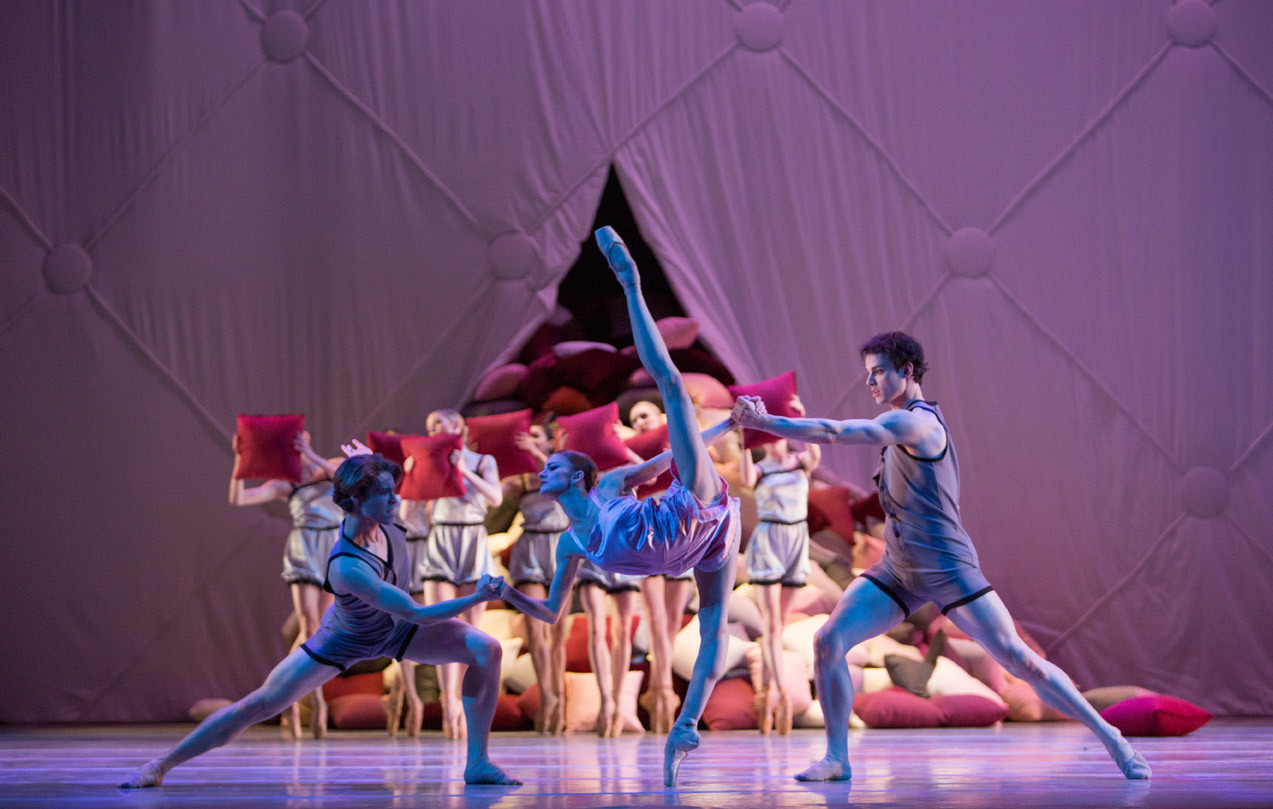 Pennsylvania Ballet, Somnolence, The Academy of Music, Philadelphia, PA.