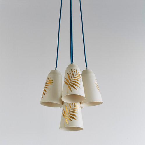 5 Palm Bells Chandelier