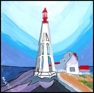 Lighthouse (after Lawren Harris)
