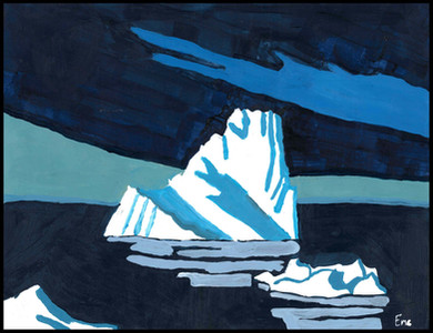 Iceberg (after Lawren Harris)