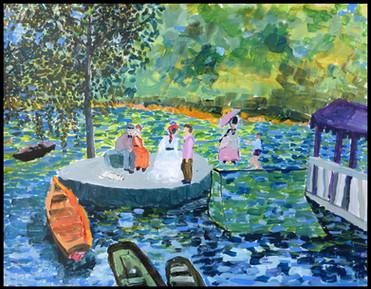 La Grenouille (after Renoir)