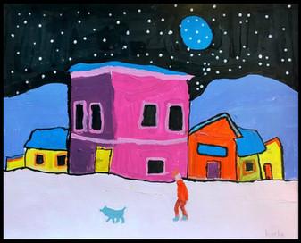 Harrison's Winter Night