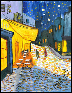 Night Cafe (after VanGogh)