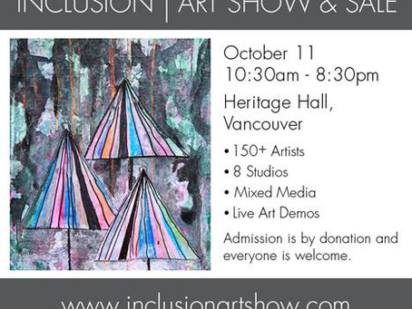 posAbilities' 14th Annual INCLUSION Art Show & Sale