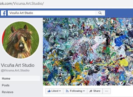 Vicuña Art Studio is now on Facebook