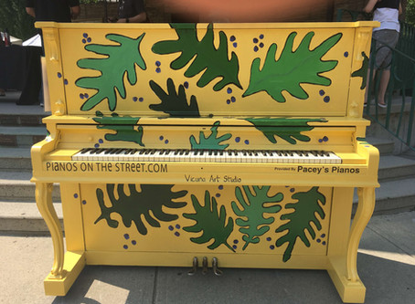 """Pianos on the Street"" for Maple Ridge"