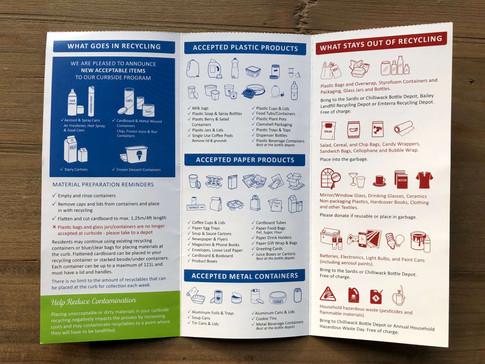 New program details delivered door to door.