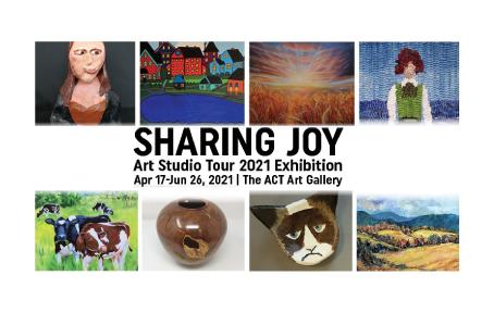 'SHARING JOY' Group Art Show at the ACT Art Centre