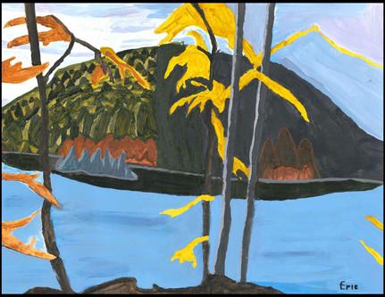 Northern Lake (after Lauren Harris)