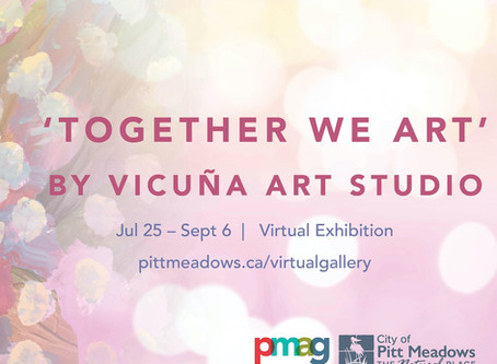 You are invited to 'Together We Art' by Vicuña Art Studio!