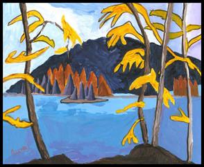 North Lake (after Lawren Harris)