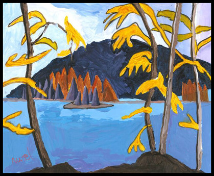 North Lake (after Lawren Harris)