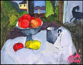 Still Life with Fruit (after Gougin)