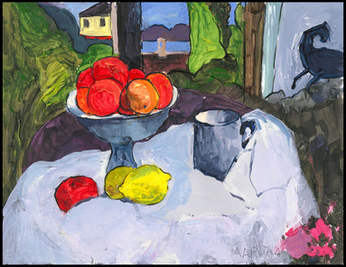 Still Life with Fruit (after Gougin)