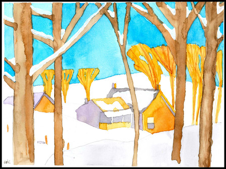 Winter House (after A.J. Casson)